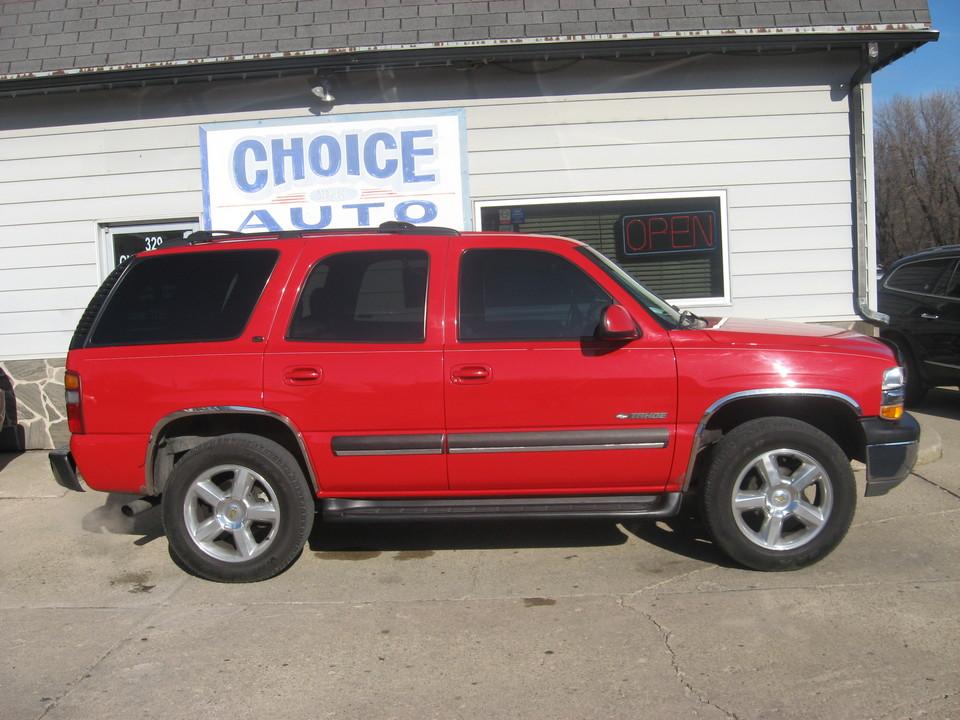 2002 Chevrolet Tahoe  - Choice Auto