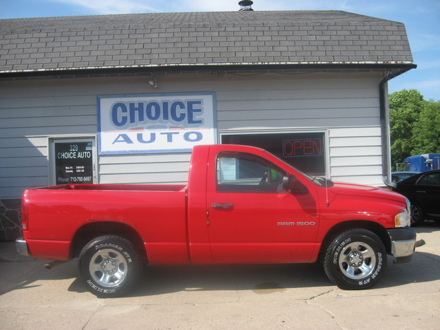 2003 dodge ram 1500 st stock 1 carroll ia 51401. Black Bedroom Furniture Sets. Home Design Ideas