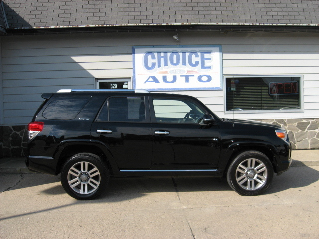 2011 toyota 4runner limited stock 160040 carroll ia 51401. Black Bedroom Furniture Sets. Home Design Ideas