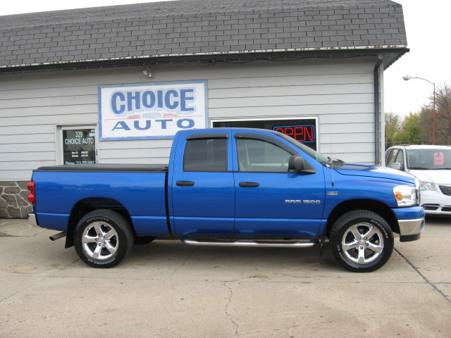 2007 dodge ram 1500 slt stock 160060 carroll ia 51401. Black Bedroom Furniture Sets. Home Design Ideas
