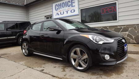 2013 Hyundai Veloster Turbo w/Black Int for Sale  - 160437  - Choice Auto