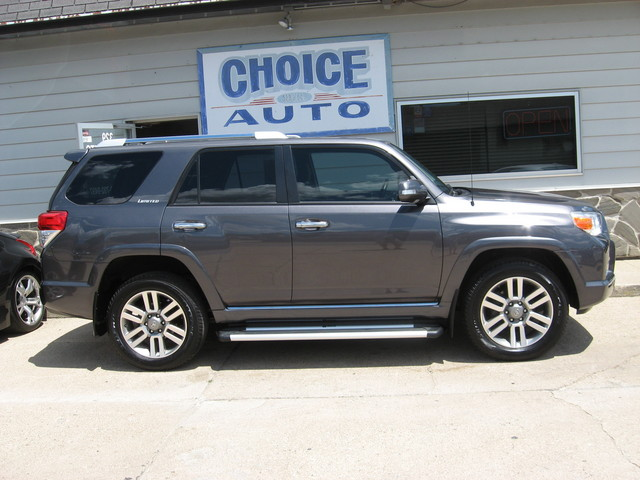 2013 toyota 4runner limited stock 160225 carroll ia 51401. Black Bedroom Furniture Sets. Home Design Ideas