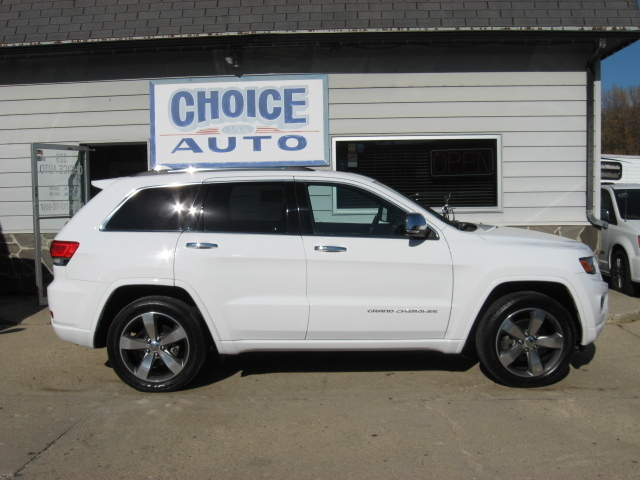 2014 jeep grand cherokee overland stock 160067 carroll ia 51401. Black Bedroom Furniture Sets. Home Design Ideas