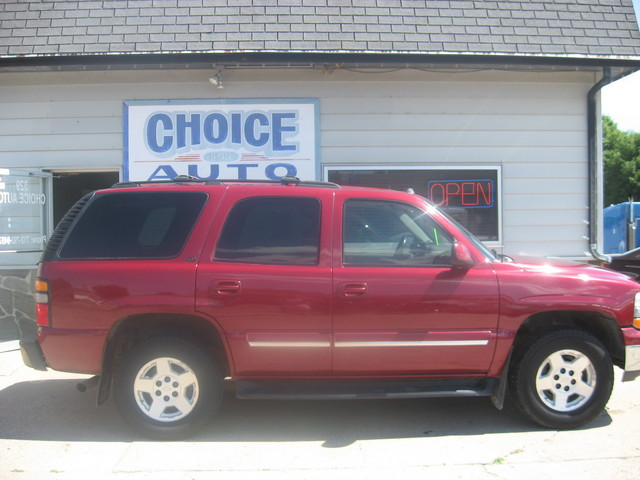 2005 chevrolet tahoe lt stock 160023 carroll ia 51401. Black Bedroom Furniture Sets. Home Design Ideas
