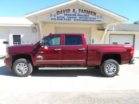 2016 Chevrolet Silvarado 3500 SRW High Country Crew Cab 4X4**Diesel** for Sale  - 4075-1  - David A. Farmer, Inc.