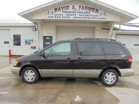 2002 Toyota Sienna XLE**Leather/Sunroof/Dual Power Sliding Doors** for Sale  - 4259  - David A. Farmer, Inc.