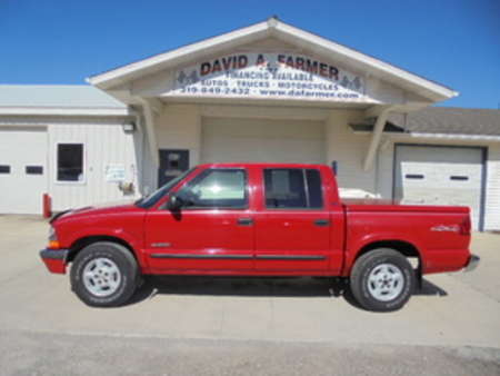 2002 Chevrolet S10 LS Crew Cab 4X4**Rust Free/ Like New Tires** for Sale  - 4027-1  - David A. Farmer, Inc.