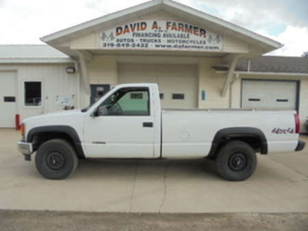 1998 Chevrolet K1500 Regular Cab 4X4 W/T Long Box**1 Owner** for Sale  - 4178  - David A. Farmer, Inc.