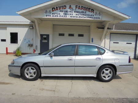 2002 Chevrolet Impala LS 4 Door**New Tires/Sunroof** for Sale  - 4204  - David A. Farmer, Inc.