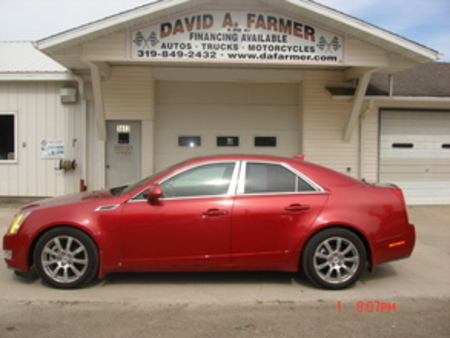 2009 Cadillac CTS Direct Injection AWD 4 Door for Sale  - 4075  - David A. Farmer, Inc.