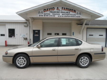 2004 Chevrolet Impala Base 4 Door**Low Miles** for Sale  - 4162  - David A. Farmer, Inc.