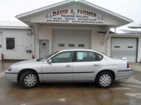 2004 Chevrolet Impala 4 Door Sedan for Sale  - 4048  - David A. Farmer, Inc.