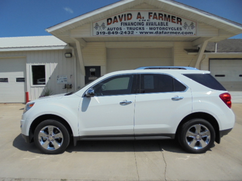 2012 Chevrolet Equinox  - David A. Farmer, Inc.
