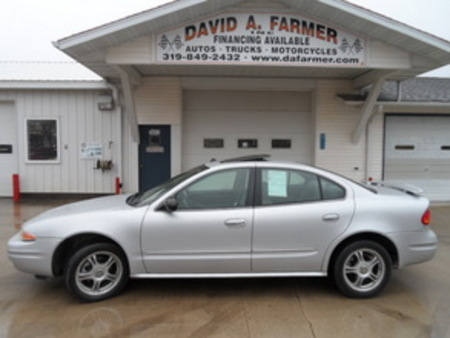 2004 Oldsmobile Alero GLS 4 Door**Leather/Sunroof** for Sale  - 4142  - David A. Farmer, Inc.