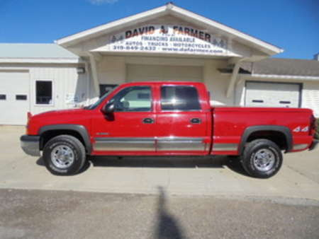 2004 Chevrolet Silverado 2500 LS Crew Cab 4X4 for Sale  - 4200  - David A. Farmer, Inc.