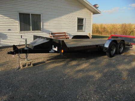2017 Other Custom Rice FMC8218 7000lb. dual axle 18 foot Car Trailer for Sale  - 4216  - David A. Farmer, Inc.