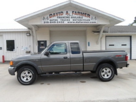 2004 Ford Ranger XLT FX4 OffRoad SuperCab 4 Door 4X4 for Sale  - 4114-1  - David A. Farmer, Inc.