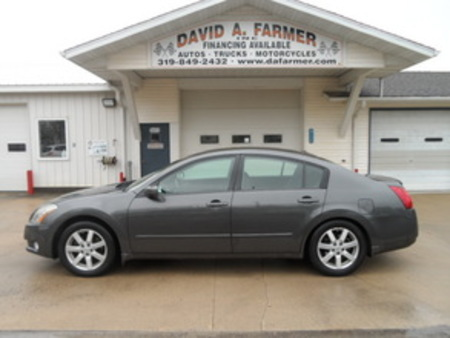 2005 Nissan Maxima SE 4 Door**Heated Leather/Sunroof** for Sale  - 4067-1  - David A. Farmer, Inc.