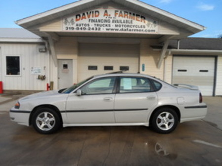 2003 Chevrolet Impala LS 4 Door**Heated Leather/Sunroof** for Sale  - 4110  - David A. Farmer, Inc.