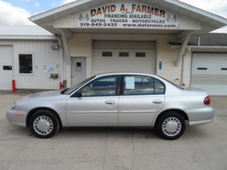 2001 Chevrolet Malibu Base 4 Door for Sale  - 4109  - David A. Farmer, Inc.