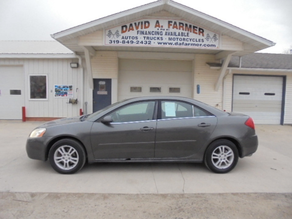 2005 Pontiac G6  - David A. Farmer, Inc.