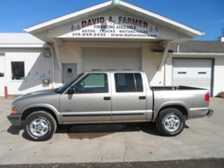 2002 Chevrolet S10 LS Crew Cab 4X4 for Sale  - 4057  - David A. Farmer, Inc.