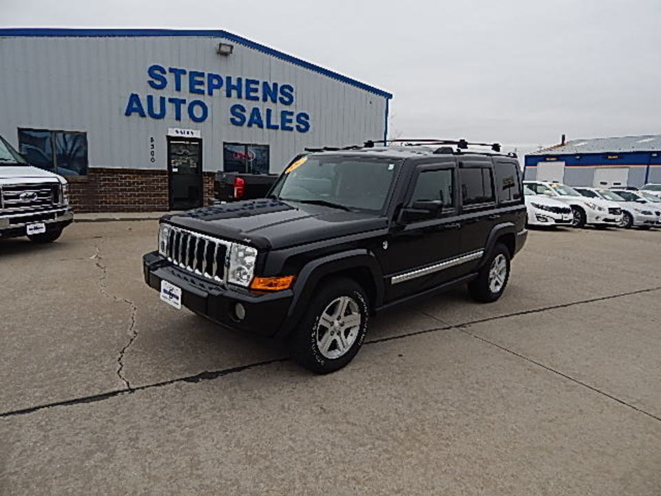 2009 Jeep Commander Limi