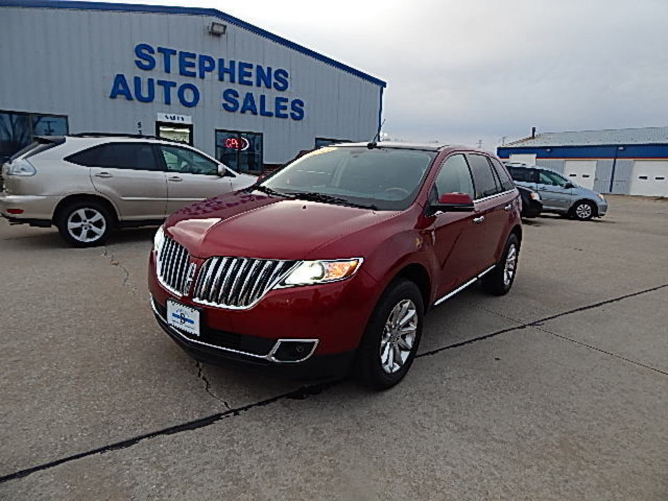 2013 Lincoln MKX  - Stephens Automotive Sales