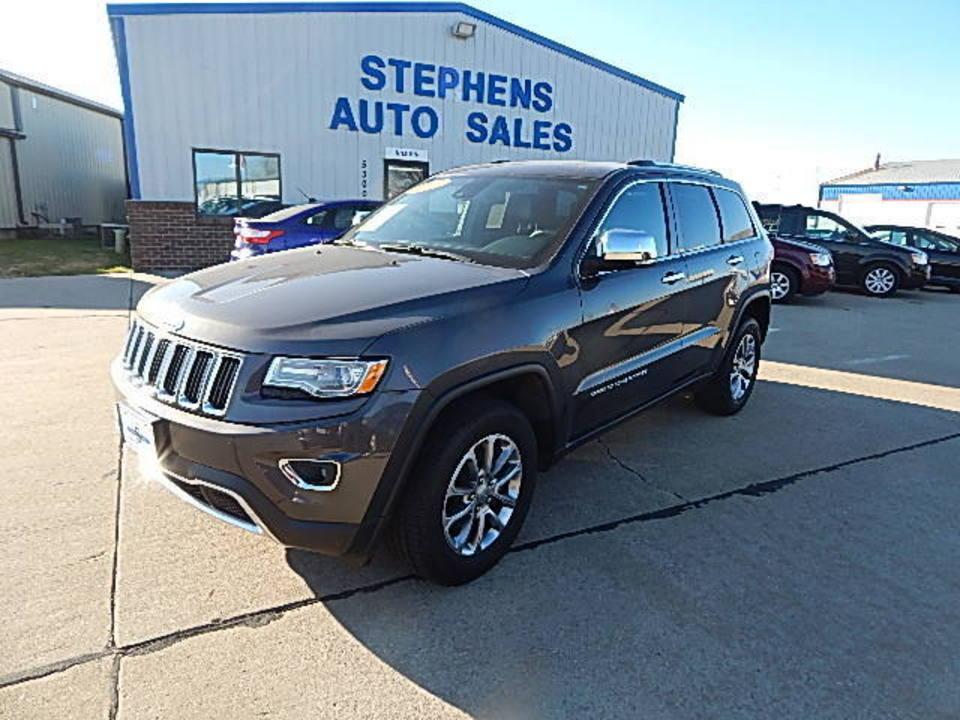 2015 Jeep Grand Cherokee  - Stephens Automotive Sales