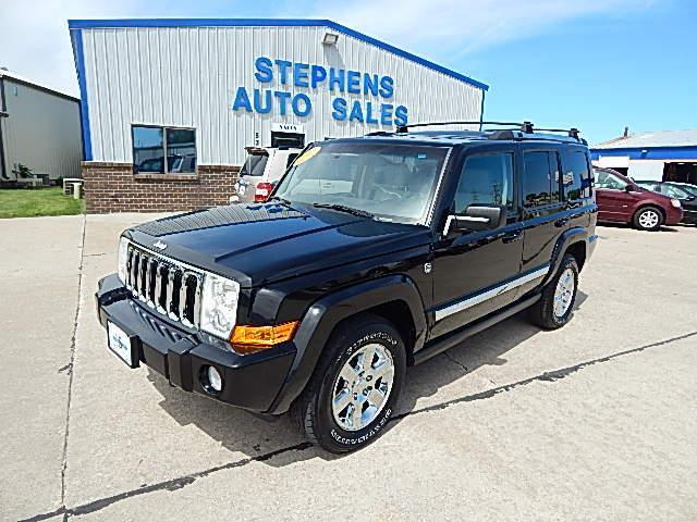 2007 Jeep Commander  - Stephens Automotive Sales