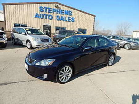 2007 Lexus IS 250 AWD, Navigation for Sale  - 32A  - Stephens Automotive Sales