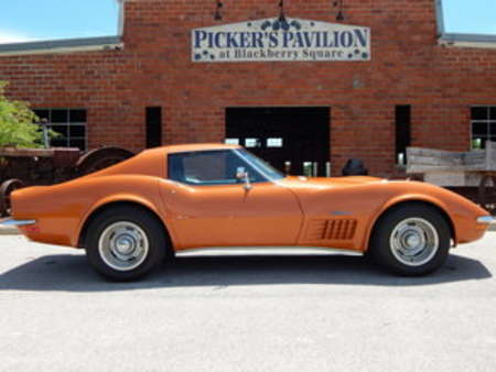 1972 Chevrolet Corvette Stingray T-Tops for Sale  - 9929  - Great American Classics