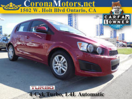 2012 Chevrolet Sonic LT for Sale  - 11398  - Corona Motors