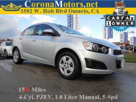 2016 Chevrolet Sonic LS for Sale  - 11598  - Corona Motors
