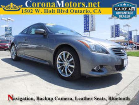 2013 Infiniti G37 Coupe Journey for Sale  - 11763  - Corona Motors