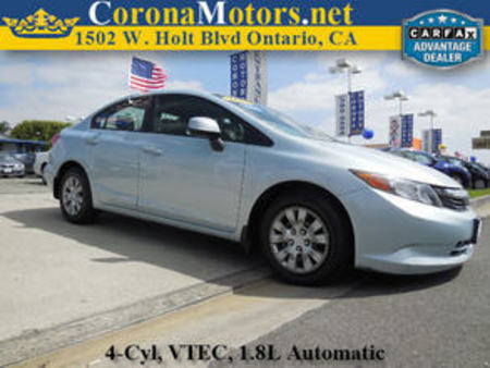 2012 Honda Civic LX for Sale  - 11432  - Corona Motors