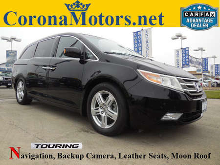 2011 Honda Odyssey Touring for Sale  - 11962  - Corona Motors
