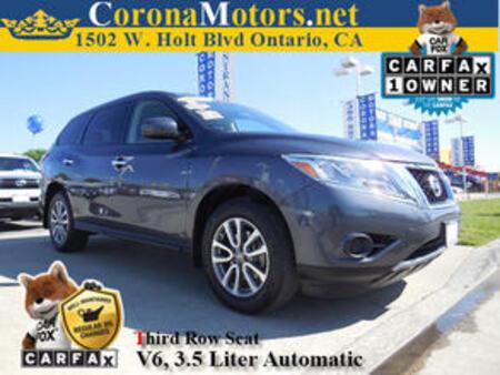 2013 Nissan Pathfinder S for Sale  - 11637  - Corona Motors