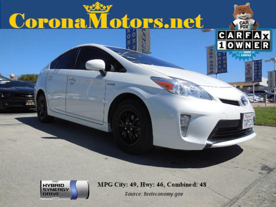 Thumbnail 2014 Toyota Prius   Corona Motors ...