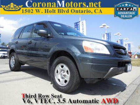 2004 Honda Pilot LX AWD for Sale  - 11289  - Corona Motors