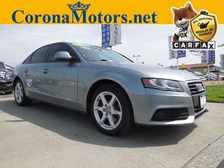 2009 Audi A-4 2.0T Prem Plus for Sale  - 12008  - Corona Motors