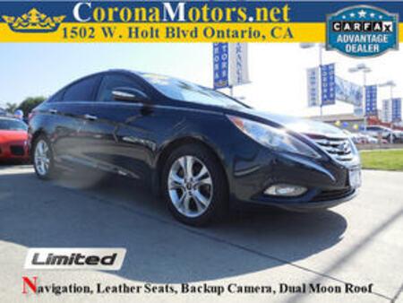 2013 Hyundai Sonata Limited for Sale  - 11696  - Corona Motors