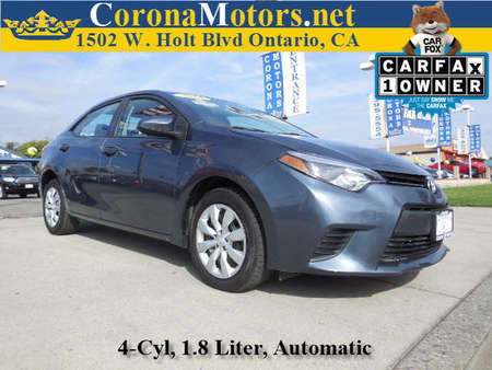 2014 Toyota Corolla LE for Sale  - 11830  - Corona Motors