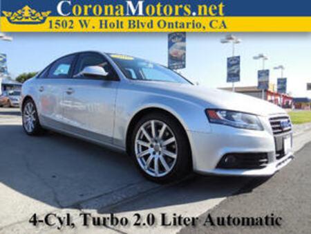 2010 Audi A-4 2.0T Premium for Sale  - 11081  - Corona Motors