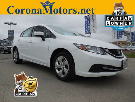 2015 Honda Civic Sedan LX for Sale  - 12050  - Corona Motors