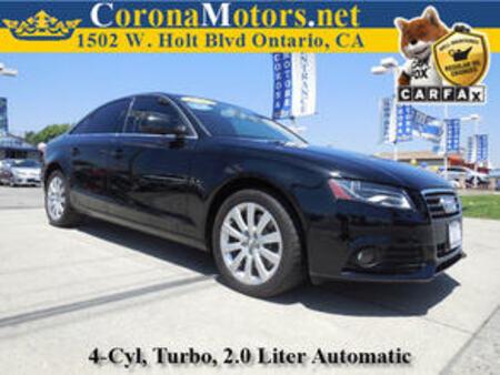 2012 Audi A-4 2.0T Premium for Sale  - 11694  - Corona Motors