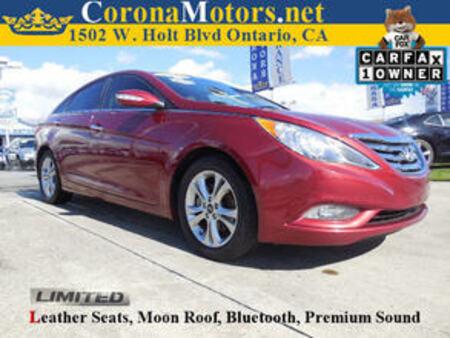 2013 Hyundai Sonata Limited for Sale  - 11567  - Corona Motors
