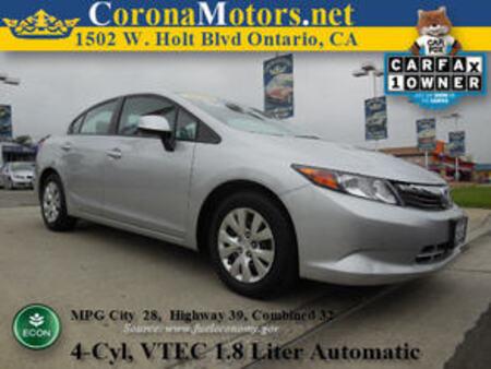 2012 Honda Civic LX for Sale  - 11098  - Corona Motors