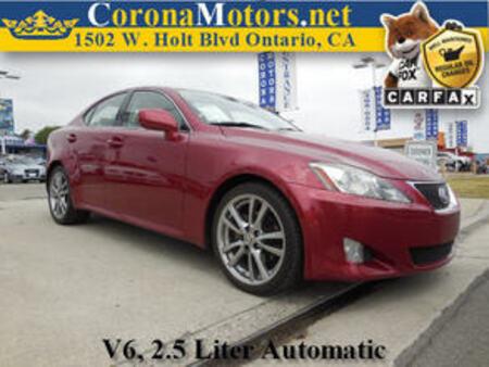 2008 Lexus IS 250  for Sale  - 11316  - Corona Motors