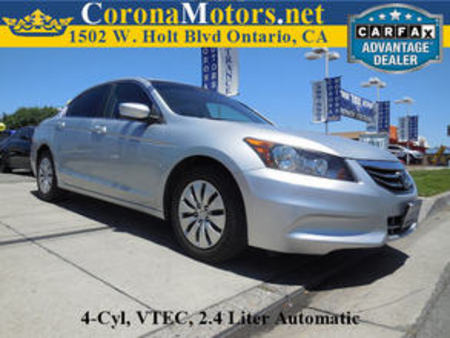 2012 Honda Accord LX for Sale  - 11699  - Corona Motors